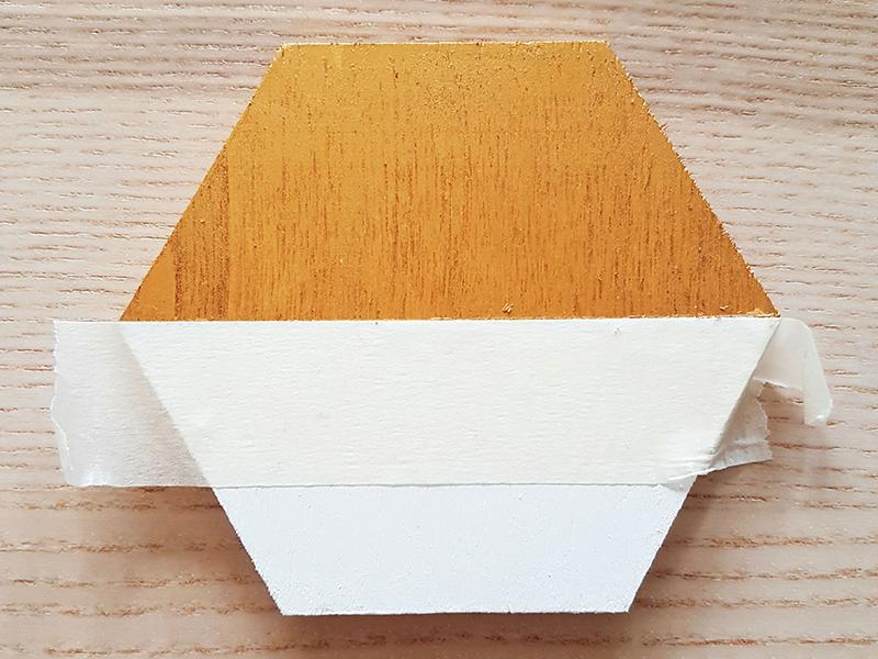 gouden verf